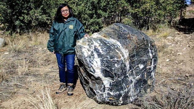 "Prescott National Forest's beloved Wizard Rock is back and ""boulder"" than ever. Forest officials were thrilled to stumble upon it, returned to its original spot."
