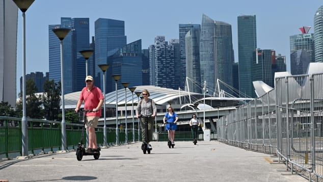 Singapore has announced a scooter sidewalk ban