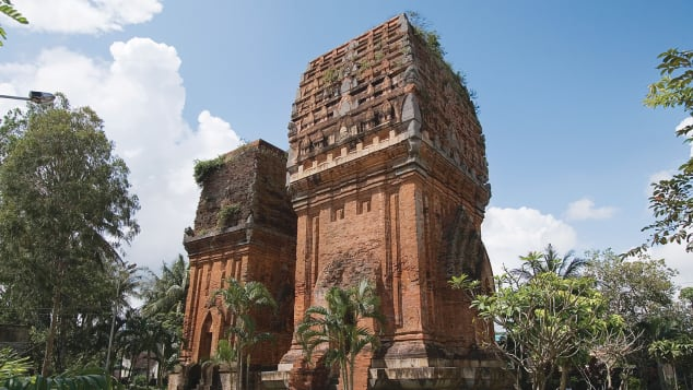 Cham ruins Quy Nhon Vietnam