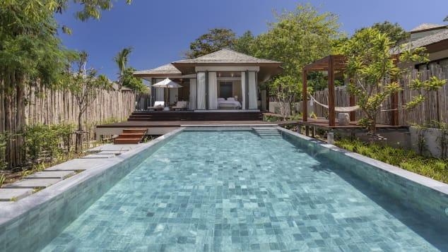 Cape Fahn Hotel, Koh Samui_Beach Front Pool Villa