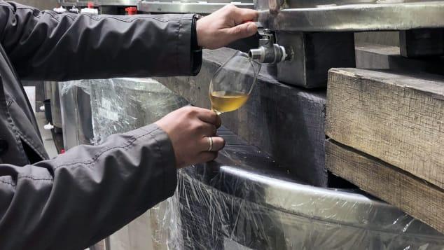 Royal Tokaji vineyard images, Mad, Hungary