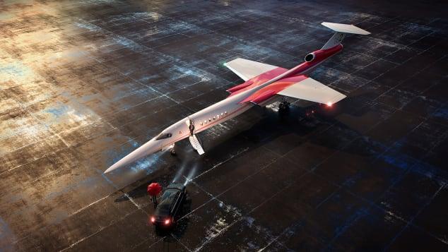 Aerion supersonic concept craft