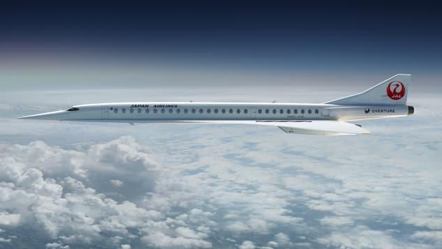 Boom supersonic concept plane