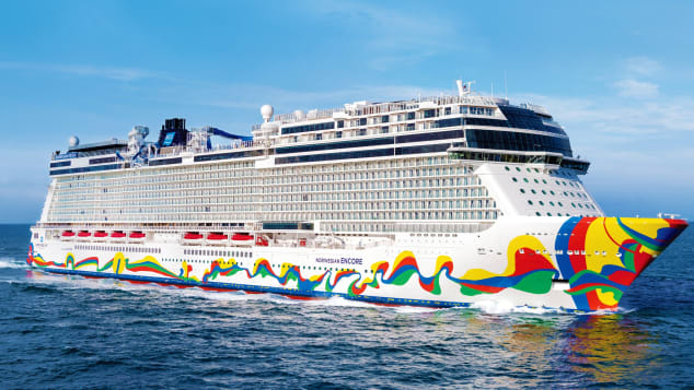 The Norwegian Encore took the prize for best new ocean cruise ship.