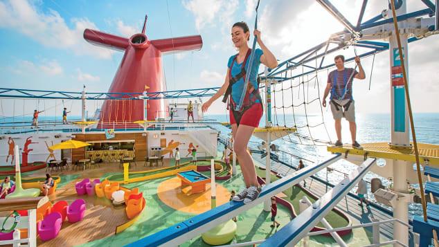 "Carnival won CruiseCritic's ""best value for money"" award"