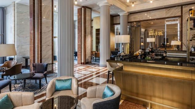 Kupola Bar at the Ritz-Carlton