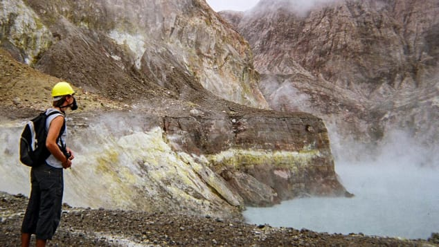 New Zealand volcano tourism