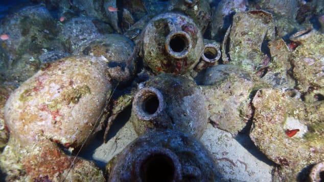 kefalonia shipwreck amphorae rome