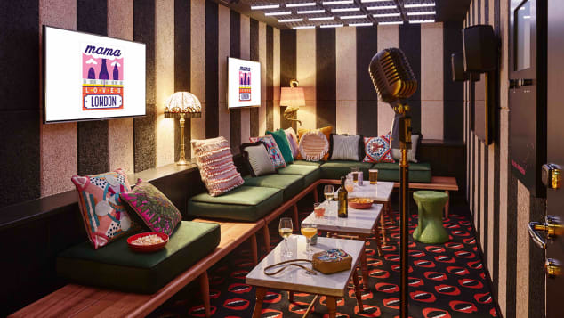 Mama Shelter has two karaoke rooms for hotel guests and the public to enjoy.