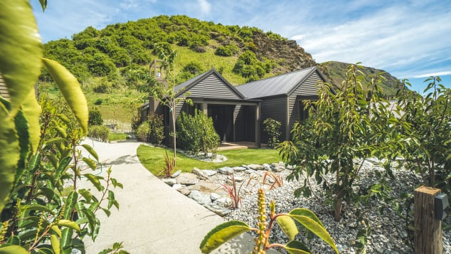 Gibbston valley Lodge & Spa Villas Exterior - Credit Gibbston Valley Lodge & Spa