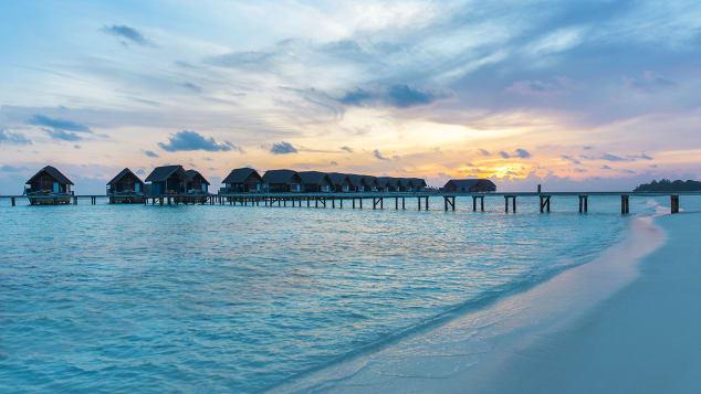 Como Cocoa Island features 34 overwater villas.