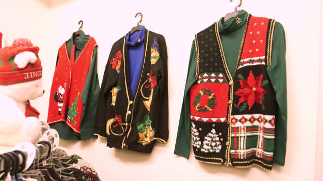 Ugly sweaters are still allowed.