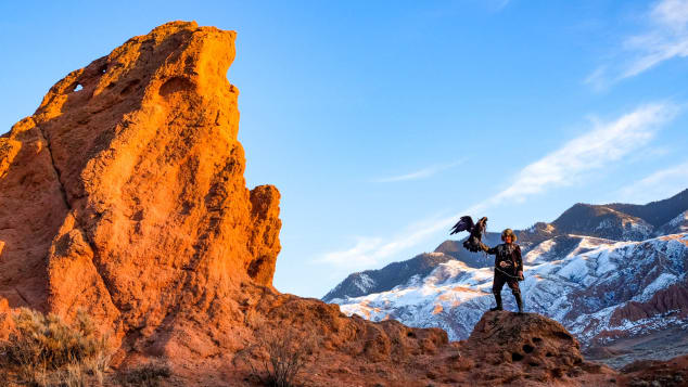 Remote Kyrgyzstan offers up desert-like canyons to rival the American West. Barry Neild/CNN