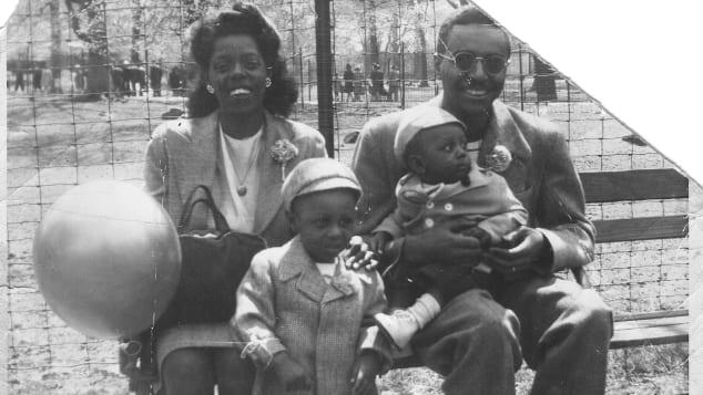 Ronald Mallett-Family at Bronx Park