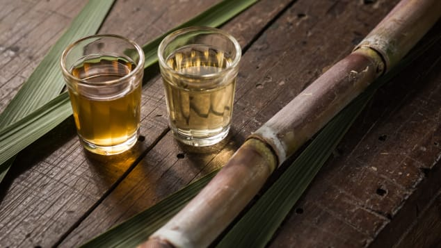 Cachaça is a liquor produced from sugarcane in Brazil.