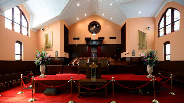 Historic Ebenezer Baptist Church is one of Atlanta's most cherished sites.