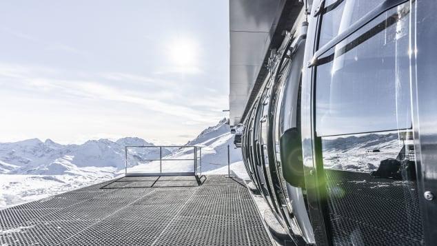 ski lifts St Anton am Arlberg