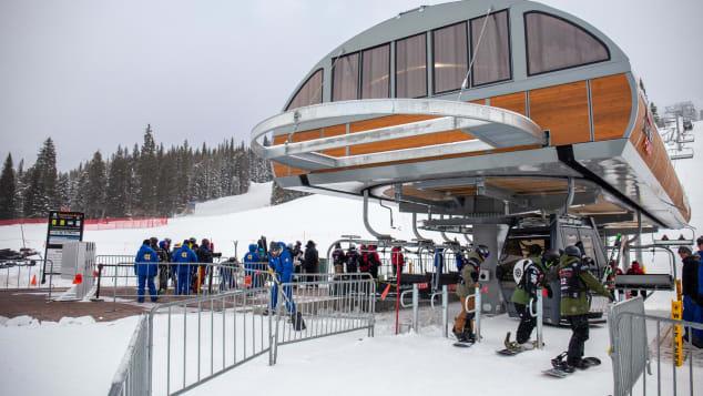 ski lift American Eagle Open