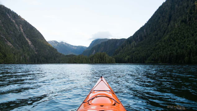 Haida canoes, which could be up to 60 feet long and hold as many as 40 people, were the only ones capable of crossing the Hecate Strait to the mainland.