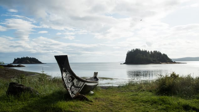 Canoe-making is a huge part of the Haida culture.