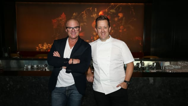 Heston Blumenthal and Ashley Palmer-Watts, Dinner by Heston at The Royal Atlantis Resort, Dubai