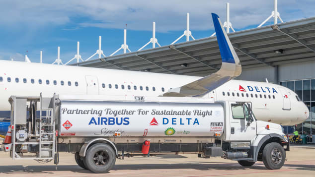 Delta Air Lines sustainable fuel