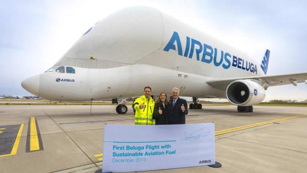 Airbus Sustainable-Aviation-Fuel-Beluga