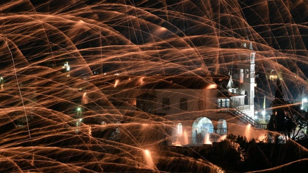 Greek Easter: There will be fireworks.