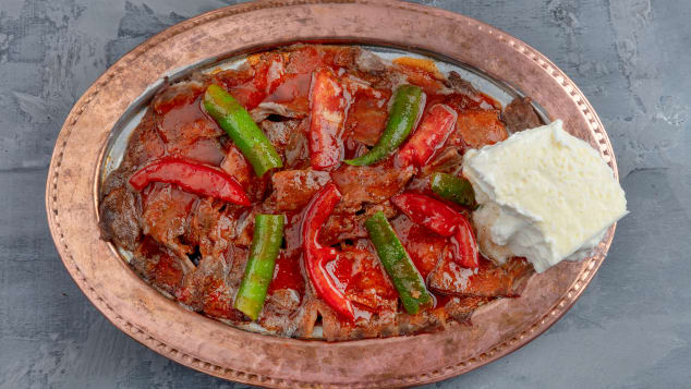 Iskender kebab is named after İskender Efendi, the man who invented the dish.