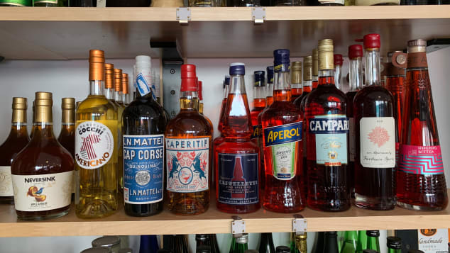 Aperol and Campari are two aperitifs that offer a lot of mixing possibilities.