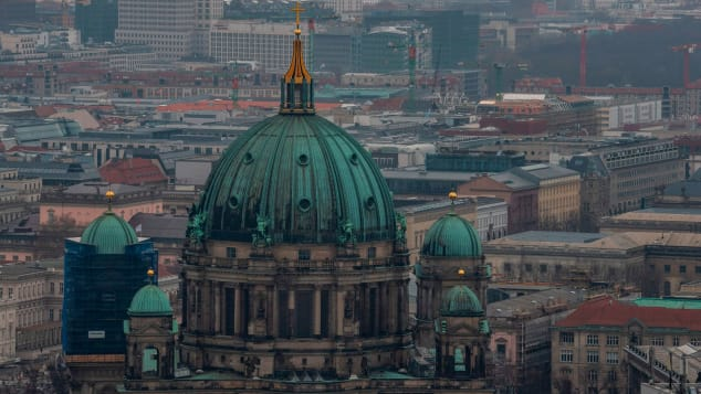View of the Berliner Dom (Berlin Cathedral) taken on March 3