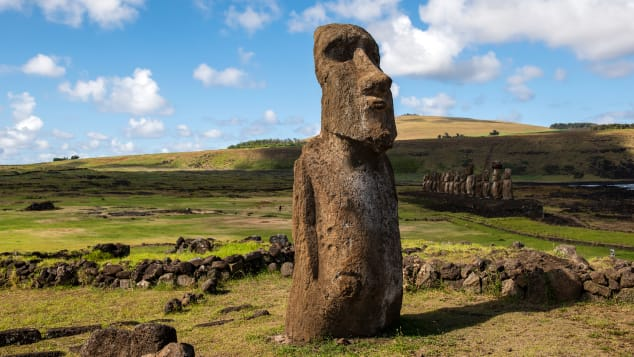 Easter Island is another spot popular with alien theorists. But Polynesian ingenuity is responsible for the island's stonework, archaeologists say.