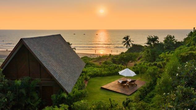 W Goa's Sea Sky Chalet.