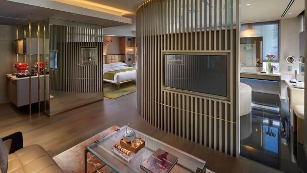 Hong Kong's Landmark Mandarin Oriental is one of the city's top luxury hotels.