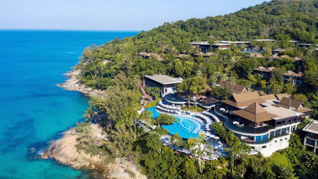 Pullman Phuket Arcadia is located on Naithon Beach.