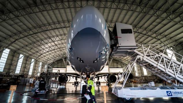 A hangar at Teruel.