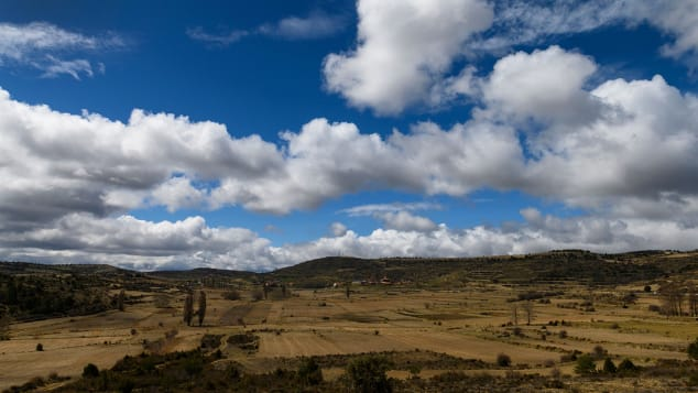 The lightly populated Teruel region is famed for its dry climate.
