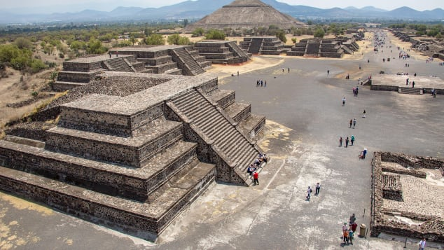 Archaeologists see Teotihuacan in Mexico as the crowning achievement of a little-known -- but earthbound -- civilization.