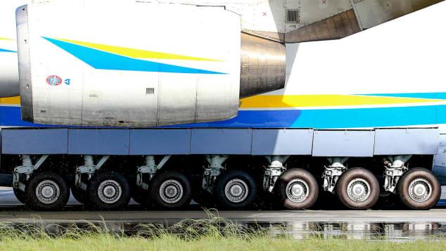 Сколько колес? Шасси Ан-225.