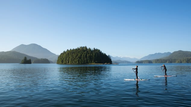 Tofino, which juts out from Vancouver Island's west coast, is having a moment.