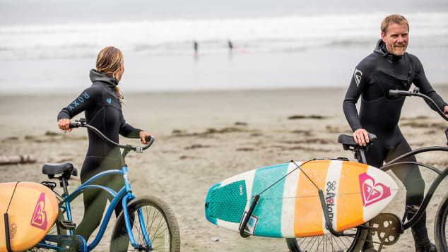 Twenty or 30 years ago, surfers were just a small element of Tofino's diverse community. Today, surf culture is a major part of Tofino.