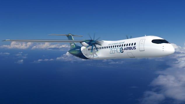 ZEROe Airbus zero-emission concept aircraft