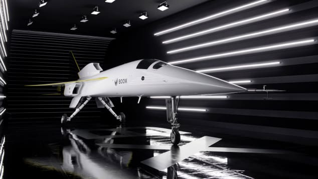 Boom Supersonic XB-1 Rollout