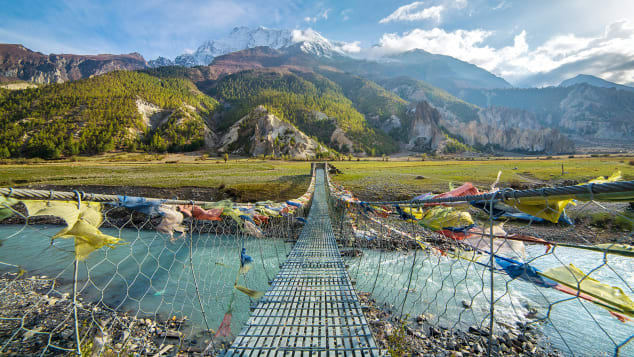 The Annapurna circuit trek is a hike you won't forget.