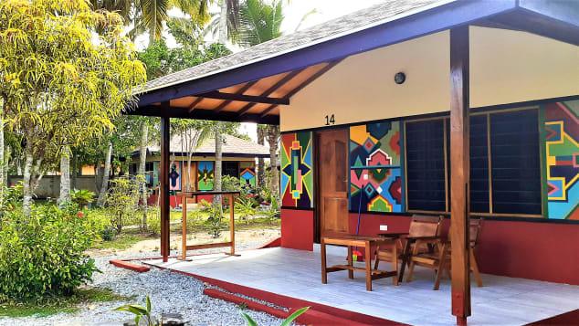 """""""Environmentally aware"""" resort Ko-Sa Beach, located near fishing village Ampenyi, offers beachfront properties."""