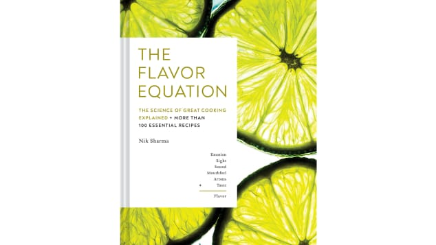 By Sharma's equation, emotion + sight + sound + mouthfeel + aroma + taste = flavor. And that's what this cookbook is all about.