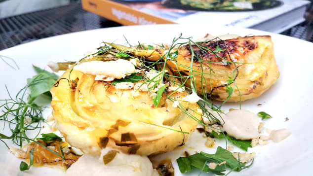 """Lime, orange juice and garlic brings acidic joy to this fennel recipe from """"Vegetable Kingdom"""""""
