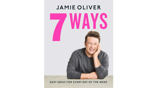 """Jamie Oliver and his team peeked into our shopping baskets and wrote """"7 Ways: Easy Ideas for Every Day of the Week"""" around what he calls are 18 hero ingredients"""