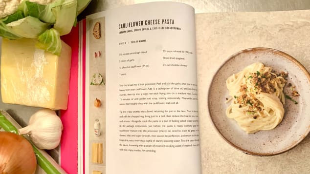 """Ingredients are photographed individually in each recipe in Jamie Oliver's """"7 Ways."""""""