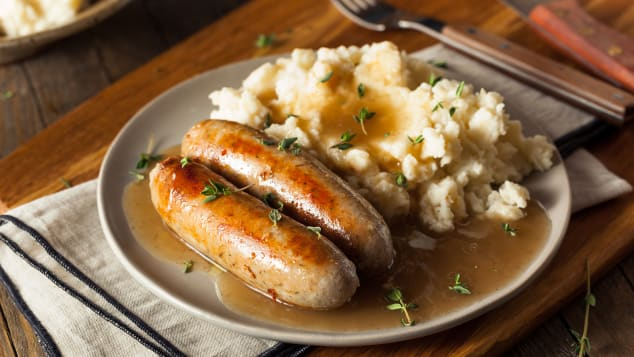 """""""Bangers"""" is a British slang term for sausages, dating back to World War II."""
